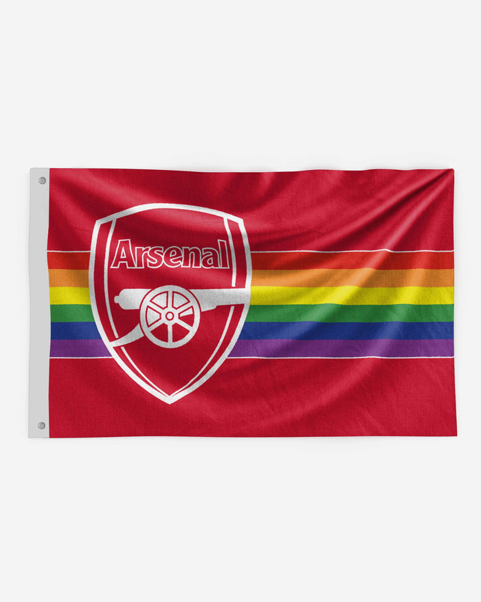 Arsenal FC Rainbow 5x3 Flag FOCO - FOCO.com | UK & IRE