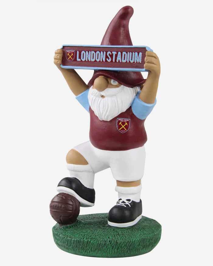 West Ham United FC Vintage Street Sign Gnome FOCO - FOCO.com | UK & IRE