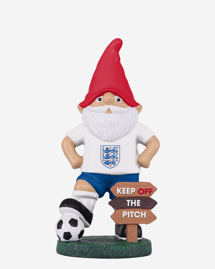 England Keep Off The Pitch Gnome FOCO - FOCO.com | UK & IRE