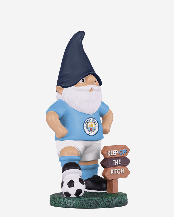 Manchester City FC Keep Off The Pitch Gnome FOCO - FOCO.com | UK & IRE