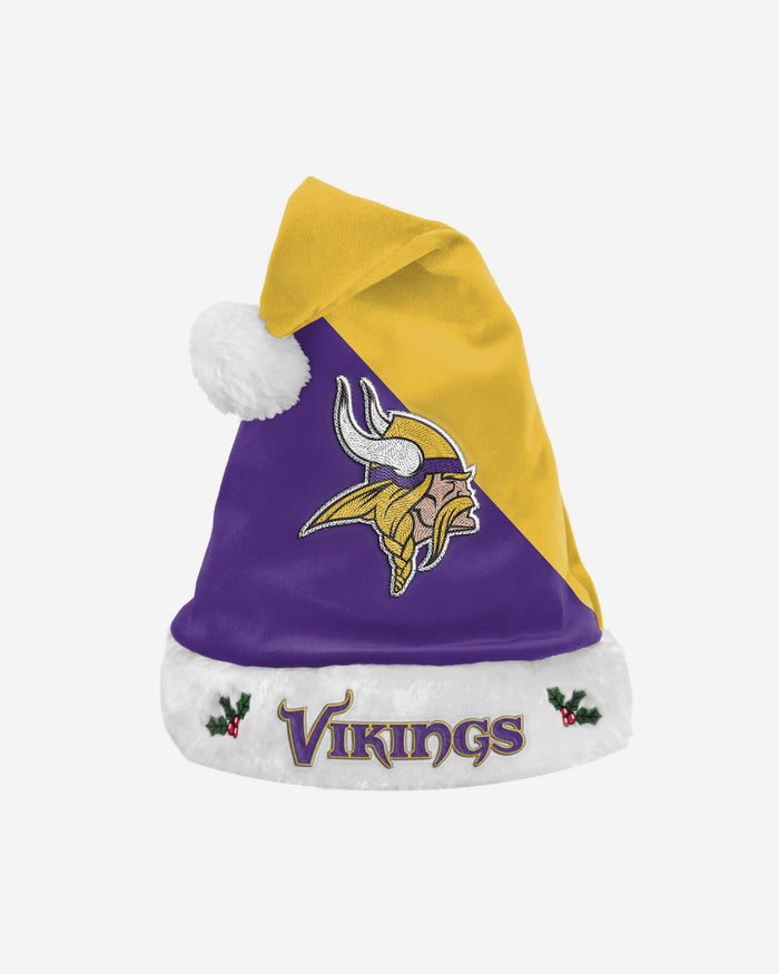 Minnesota Vikings Basic Santa Hat FOCO - FOCO.com | UK & IRE