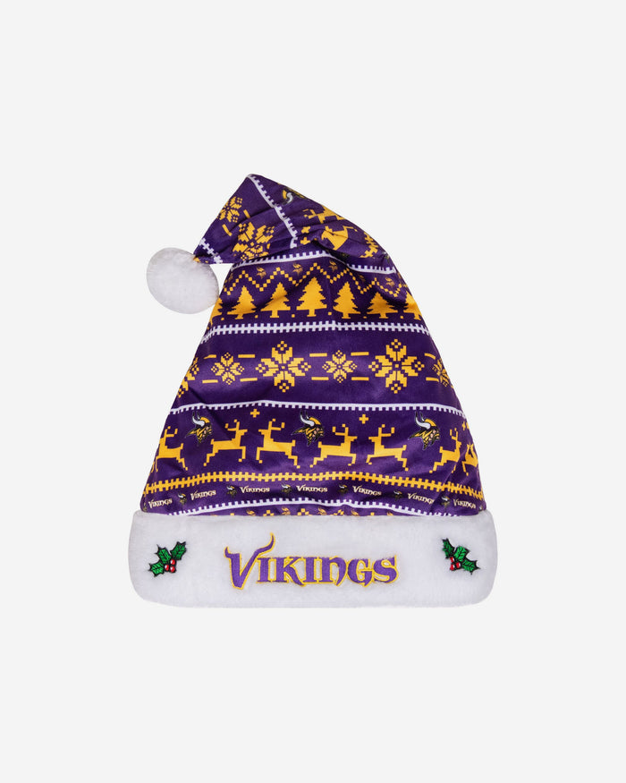 Minnesota Vikings Santa Hat FOCO - FOCO.com | UK & IRE