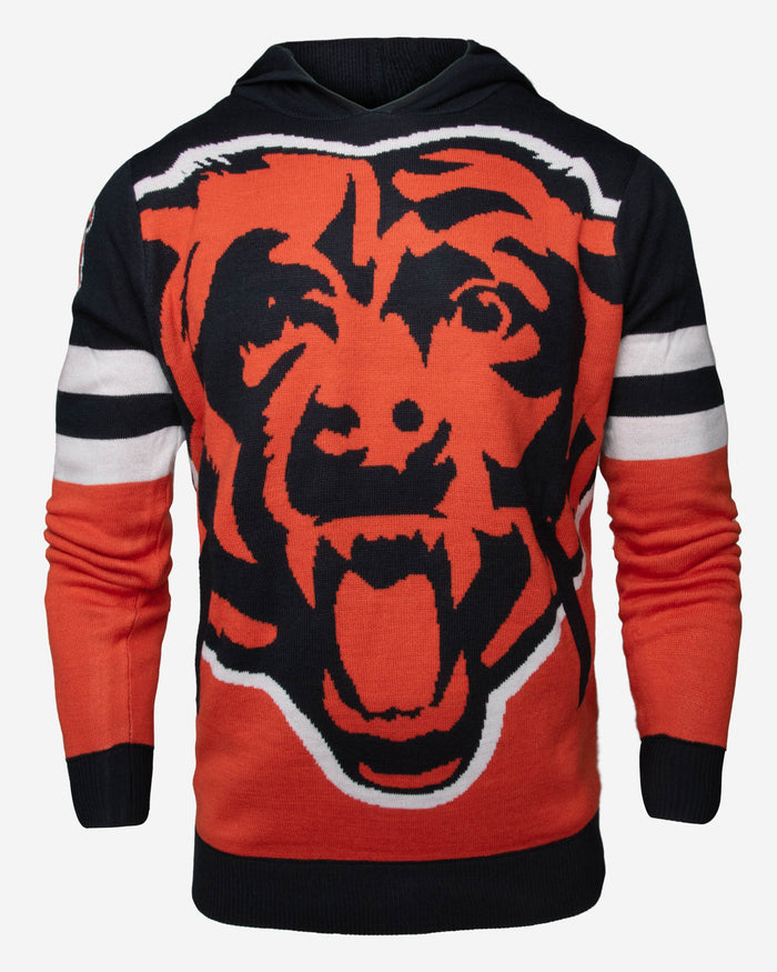 Chicago Bears Big Logo Hooded Sweater FOCO - FOCO.com | UK & IRE