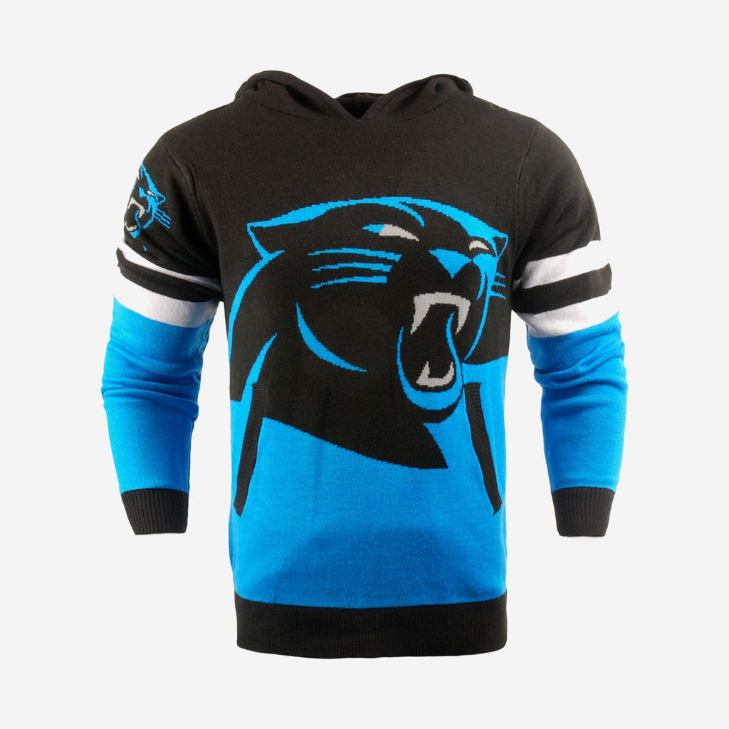 Carolina Panthers Big Logo Hooded Sweater FOCO - FOCO.com | UK & IRE