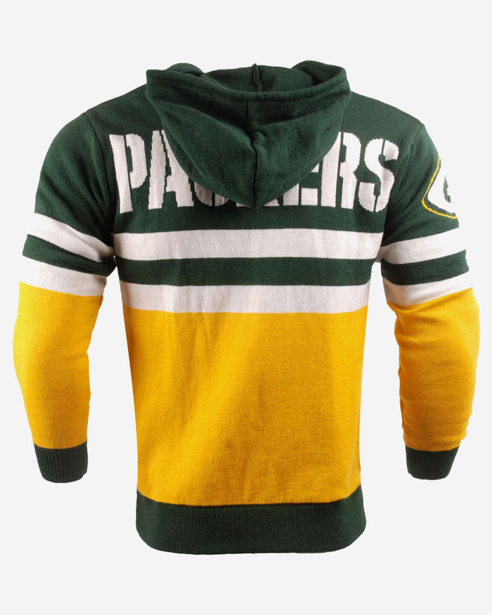 Green Bay Packers Big Logo Hooded Sweater FOCO - FOCO.com | UK & IRE