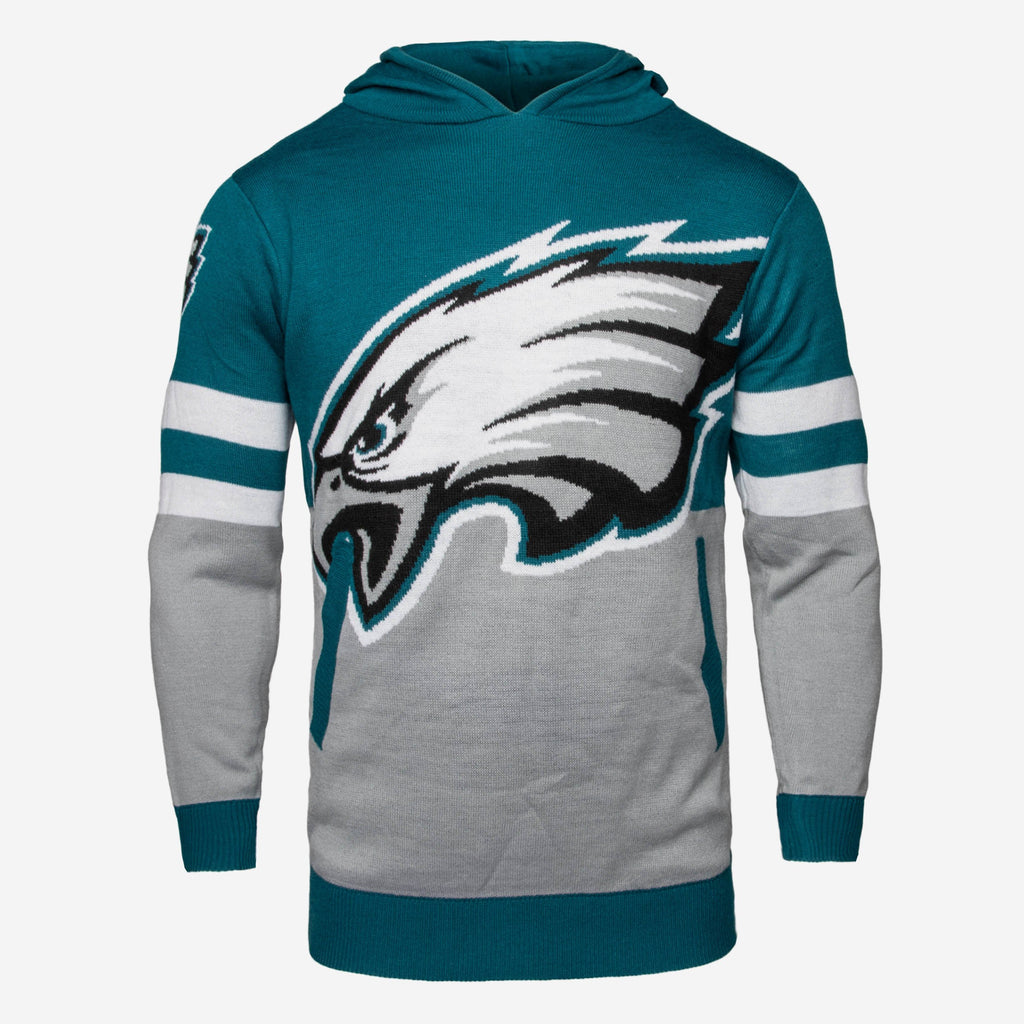 Philadelphia Eagles Big Logo Hooded Sweater FOCO - FOCO.com | UK & IRE