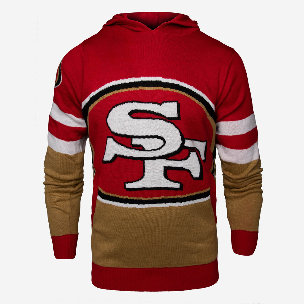 San Francisco 49ers Big Logo Hooded Sweater FOCO - FOCO.com | UK & IRE