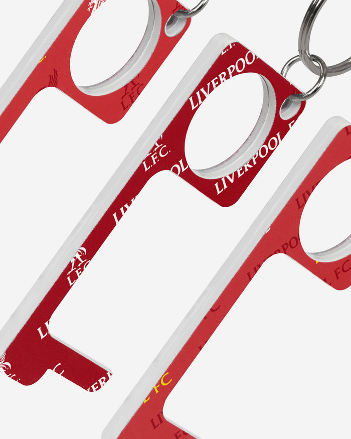 Liverpool FC 3 Pack No Touch Keyring FOCO - FOCO.com | UK & IRE