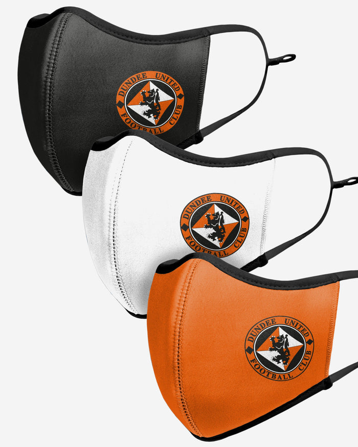Dundee United FC Sport 3 Pack Face Cover FOCO - FOCO.com | UK & IRE