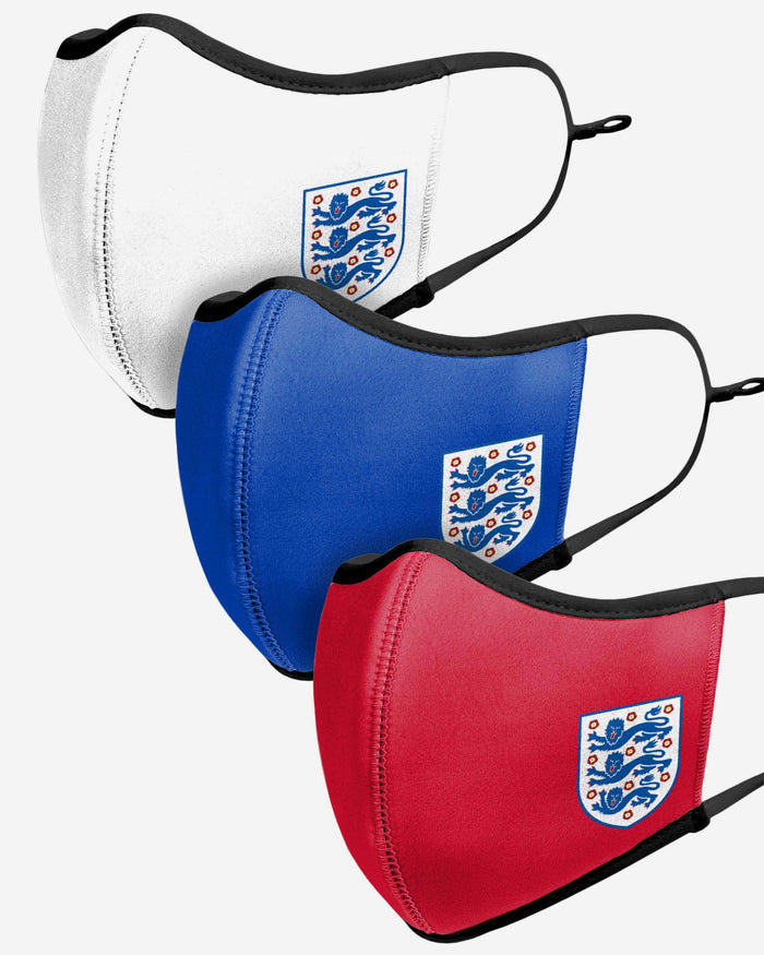England Sport 3 Pack Face Cover FOCO - FOCO.com | UK & IRE