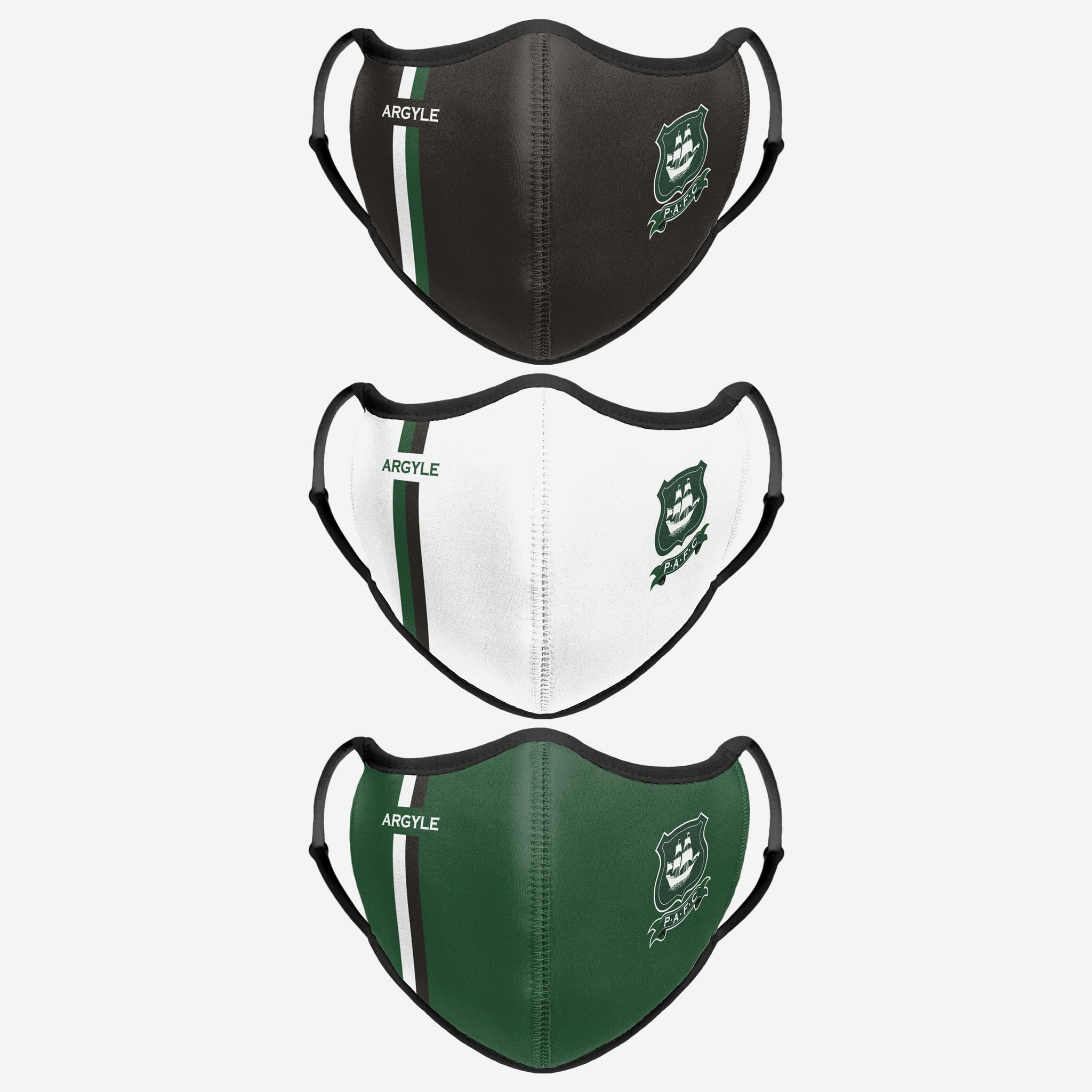 Plymouth FC Sport 3 Pack Face Cover