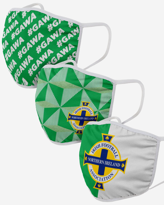 Northern Ireland 3 Pack Face Cover FOCO Adult - FOCO.com | UK & IRE