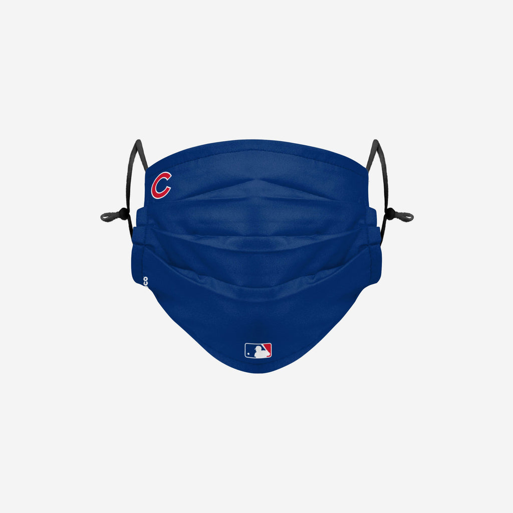 Chicago Cubs On-Field Gameday Adjustable Face Cover FOCO - FOCO.com | UK & IRE