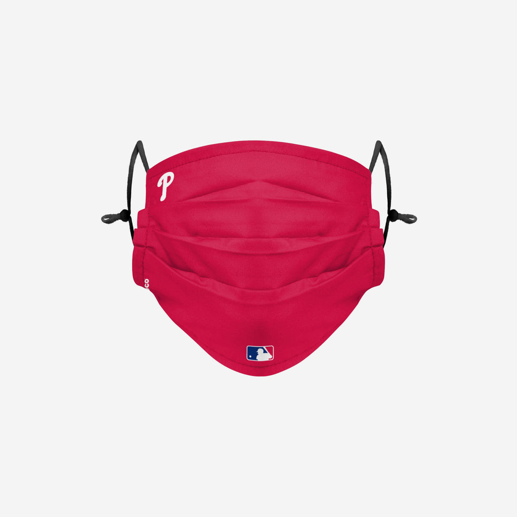 Philadelphia Phillies On-Field Gameday Adjustable Face Cover FOCO - FOCO.com | UK & IRE