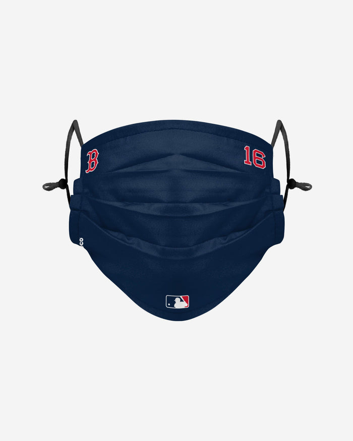 Andrew Benintendi Boston Red Sox On-Field Gameday Adjustable Face Cover FOCO - FOCO.com | UK & IRE