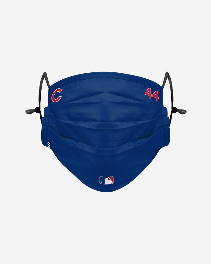 Anthony Rizzo Chicago Cubs On-Field Gameday Adjustable Face Cover FOCO - FOCO.com | UK & IRE