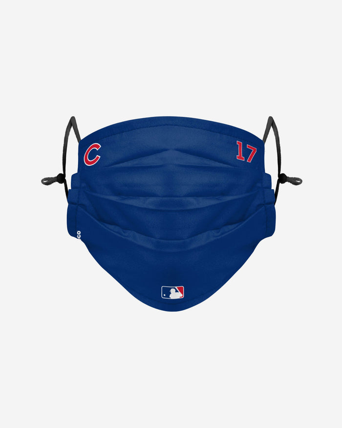 Kris Bryant Chicago Cubs On-Field Gameday Adjustable Face Cover FOCO - FOCO.com | UK & IRE