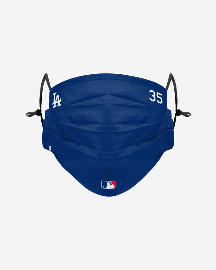 Cody Bellinger Los Angeles Dodgers On-Field Gameday Adjustable Face Cover FOCO - FOCO.com | UK & IRE