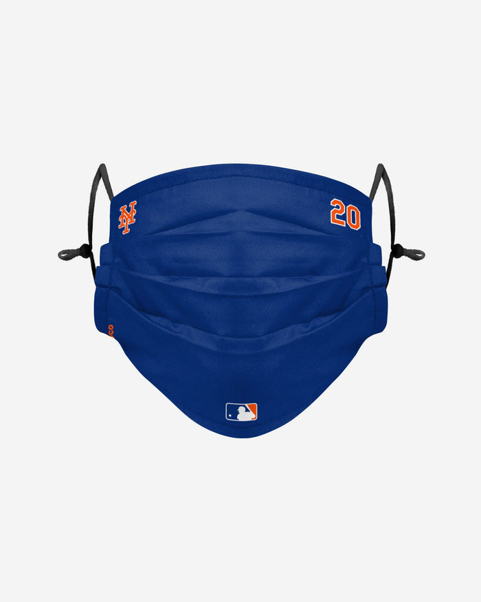 Pete Alonso New York Mets On-Field Gameday Adjustable Face Cover FOCO - FOCO.com | UK & IRE