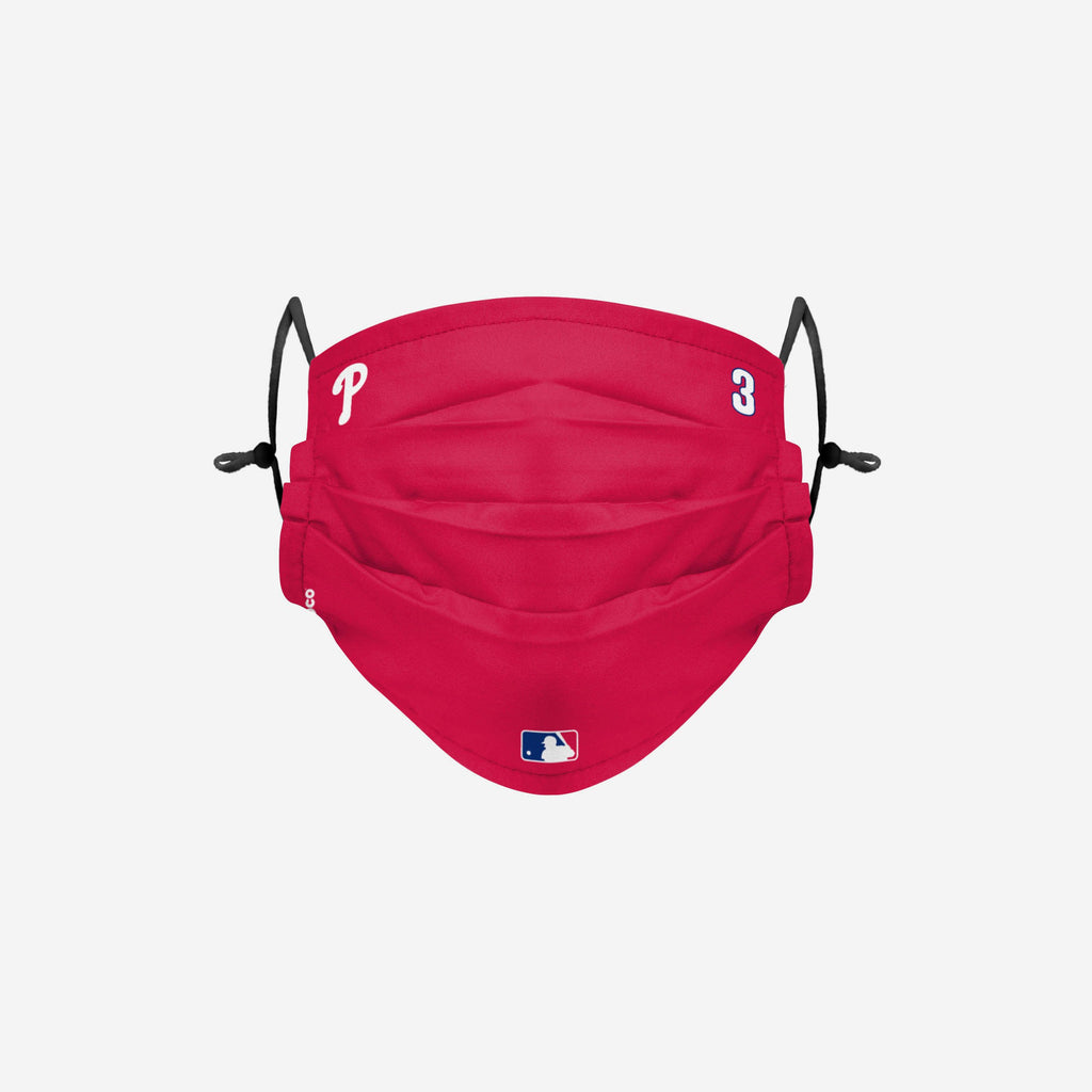 Bryce Harper Philadelphia Phillies On-Field Gameday Adjustable Face Cover FOCO - FOCO.com | UK & IRE