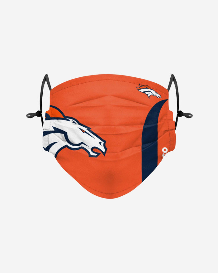 Denver Broncos On-Field Sideline Logo Face Cover FOCO Adult - FOCO.com | UK & IRE
