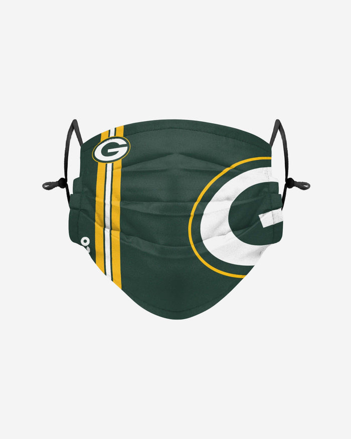 Green Bay Packers On-Field Sideline Logo Face Cover FOCO Adult - FOCO.com | UK & IRE