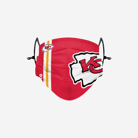 Kansas City Chiefs On-Field Sideline Logo Face Cover