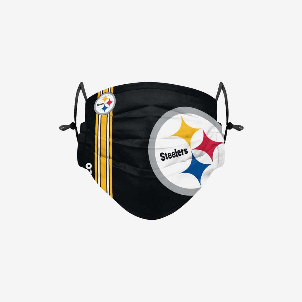 Pittsburgh Steelers On-Field Sideline Logo Face Cover FOCO Adult - FOCO.com | UK & IRE