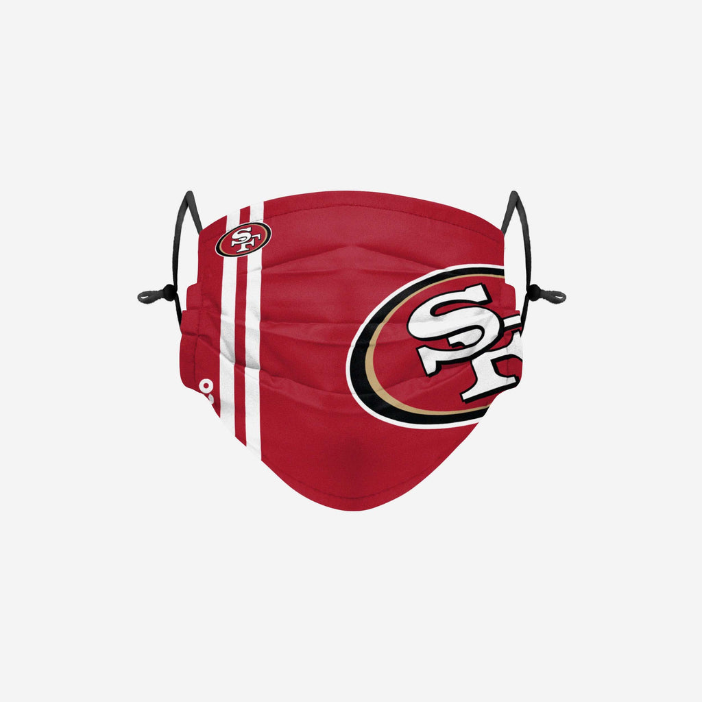 San Francisco 49ers On-Field Sideline Logo Face Cover FOCO Adult - FOCO.com | UK & IRE