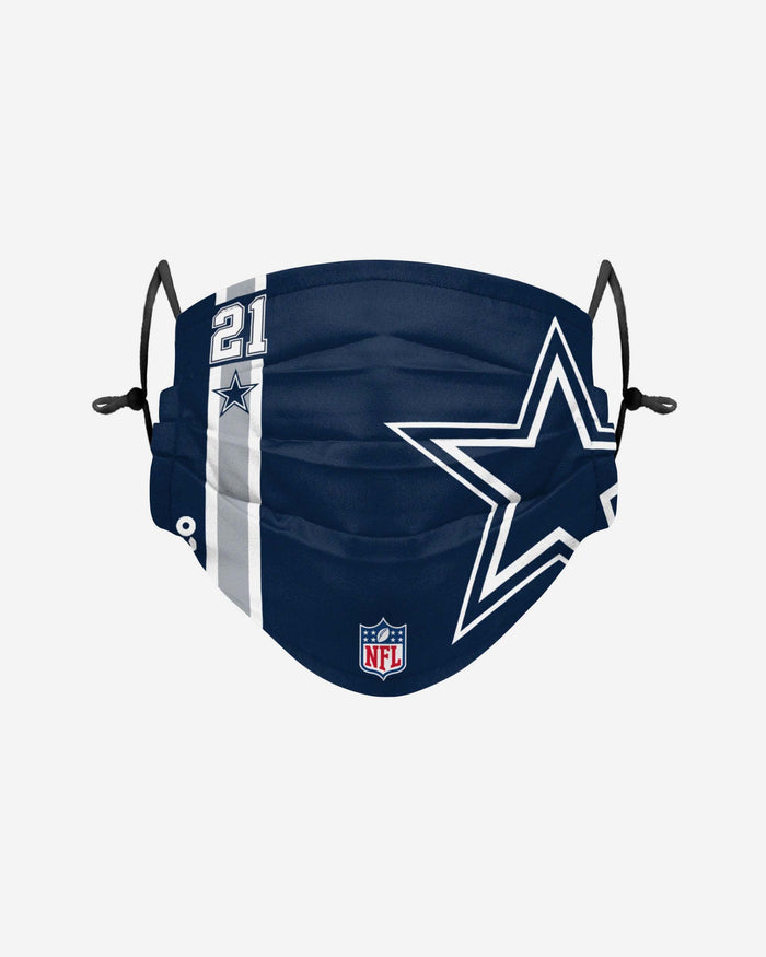 Ezekiel Elliott Dallas Cowboys On-Field Sideline Logo Face Cover FOCO Adult - FOCO.com | UK & IRE