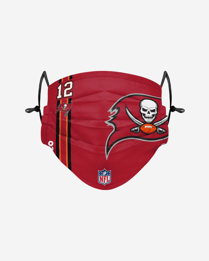 Tom Brady Tampa Bay Buccaneers On-Field Sideline Logo Face Cover FOCO Adult - FOCO.com | UK & IRE