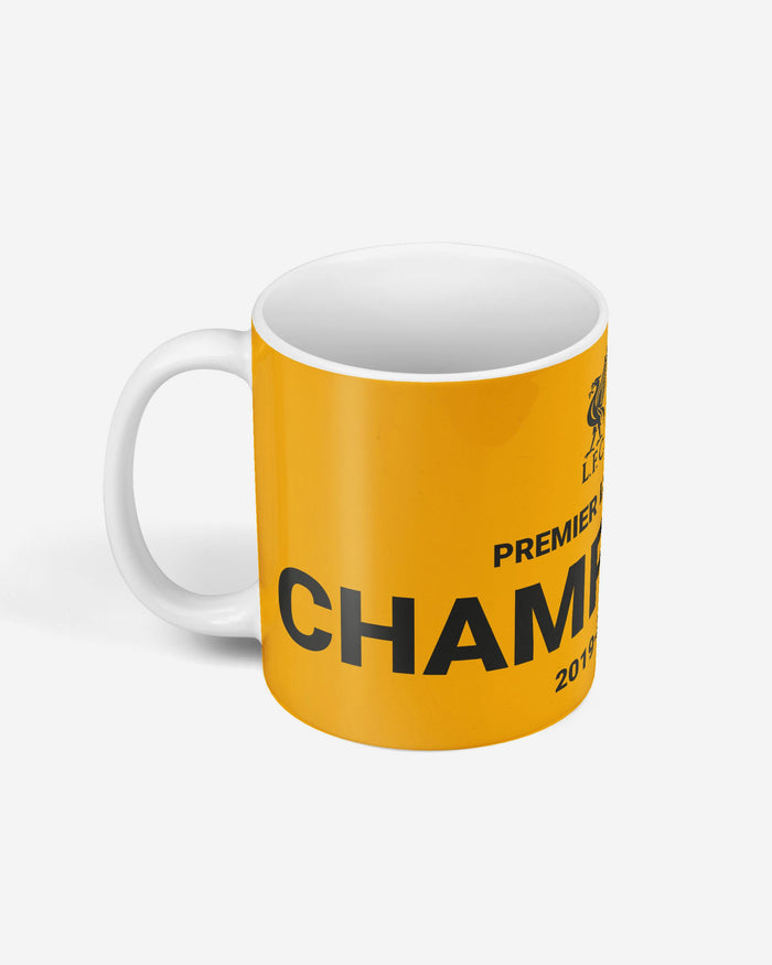 Liverpool FC 2019-20 Champions Black & Orange Mug FOCO - FOCO.com | UK & IRE