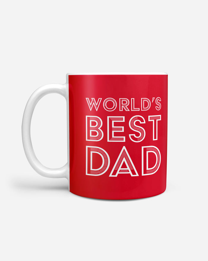 Arsenal FC Worlds Best Dad Mug FOCO - FOCO.com | UK & IRE