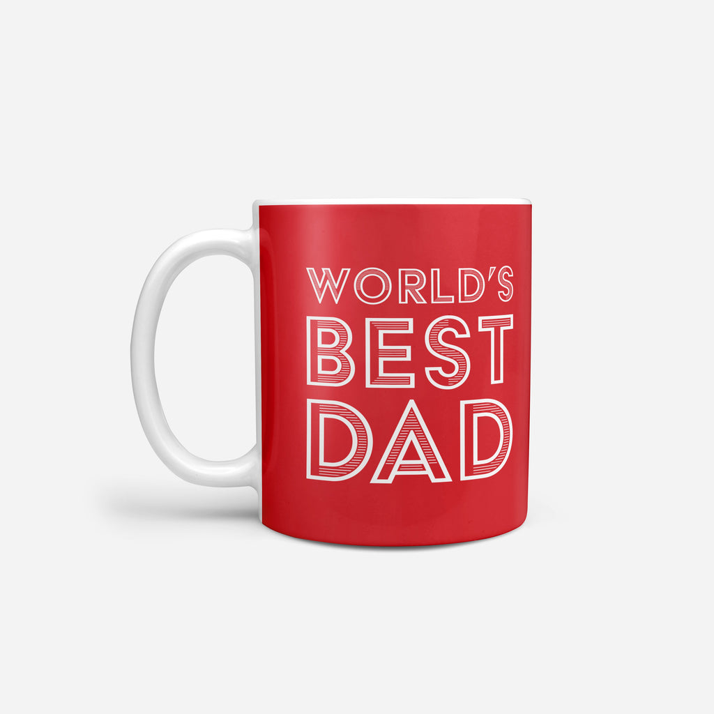 Liverpool FC Worlds Best Dad Mug FOCO - FOCO.com | UK & IRE