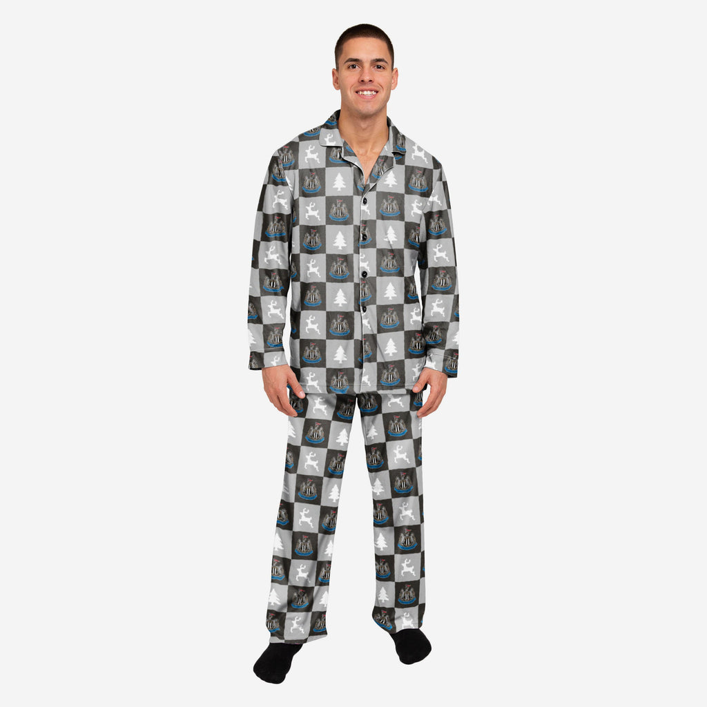 Newcastle United FC Button Up Pyjamas FOCO S - FOCO.com | UK & IRE