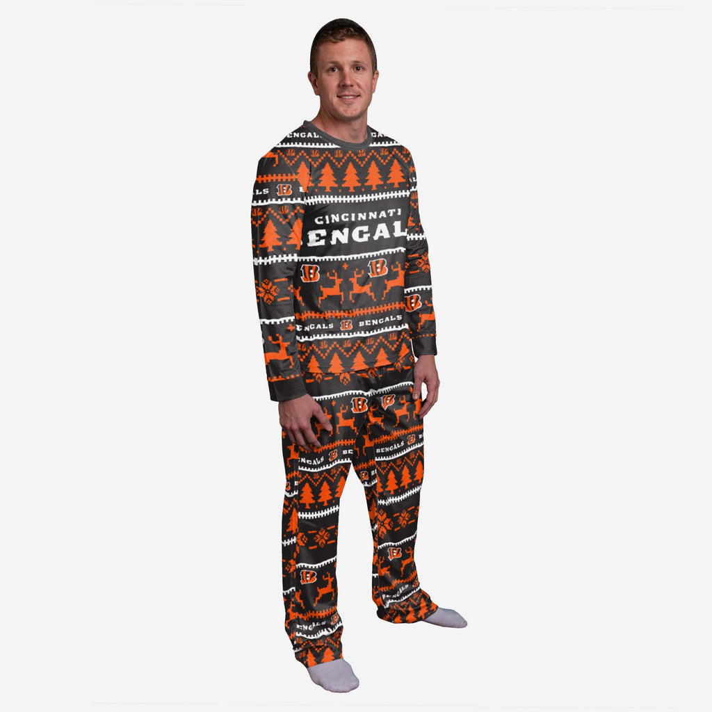 Cincinnati Bengals Family Holiday Pyjamas FOCO S - FOCO.com | UK & IRE