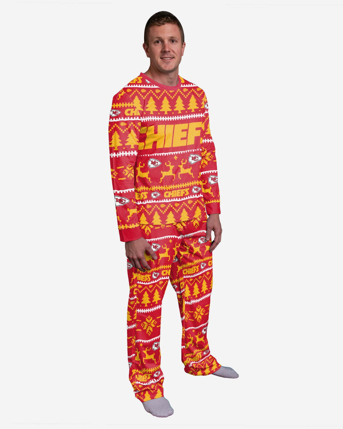 Kansas City Chiefs Family Holiday Pyjamas FOCO S - FOCO.com | UK & IRE