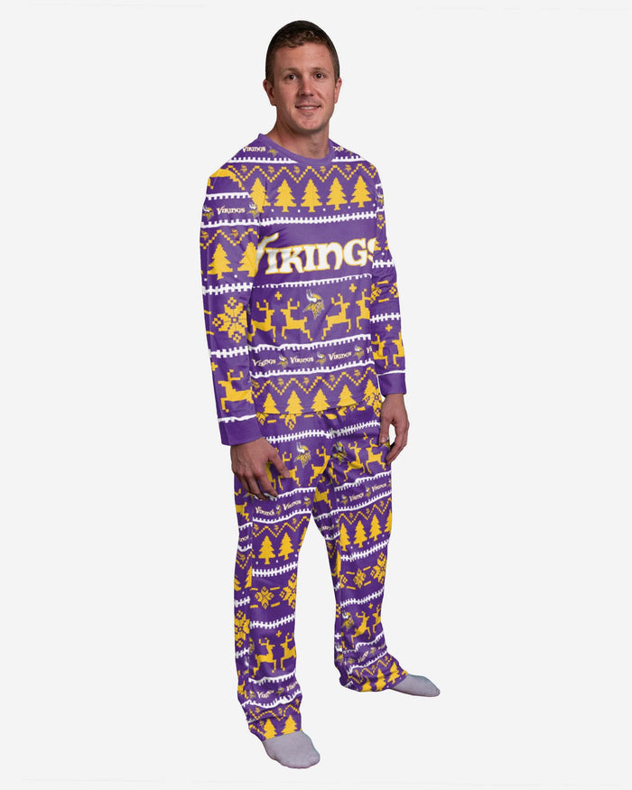Minnesota Vikings Family Holiday Pyjamas FOCO S - FOCO.com | UK & IRE
