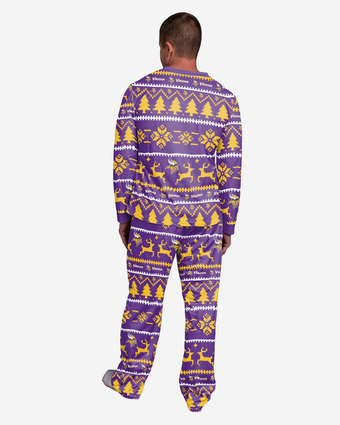 Minnesota Vikings Family Holiday Pyjamas FOCO - FOCO.com | UK & IRE