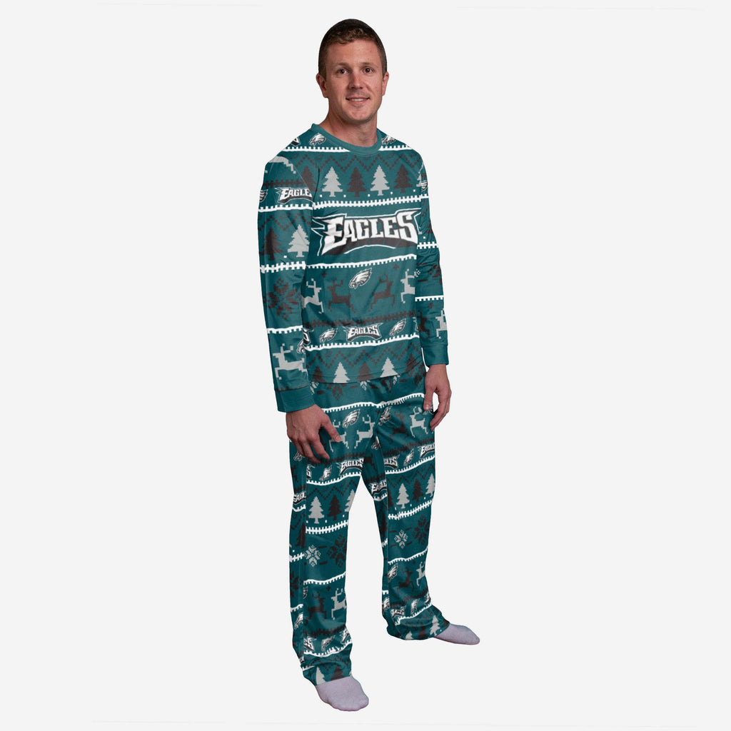 Philadelphia Eagles Family Holiday Pyjamas FOCO S - FOCO.com | UK & IRE