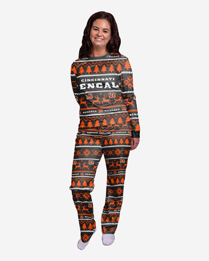 Cincinnati Bengals Womens Family Holiday Pyjamas FOCO S - FOCO.com | UK & IRE