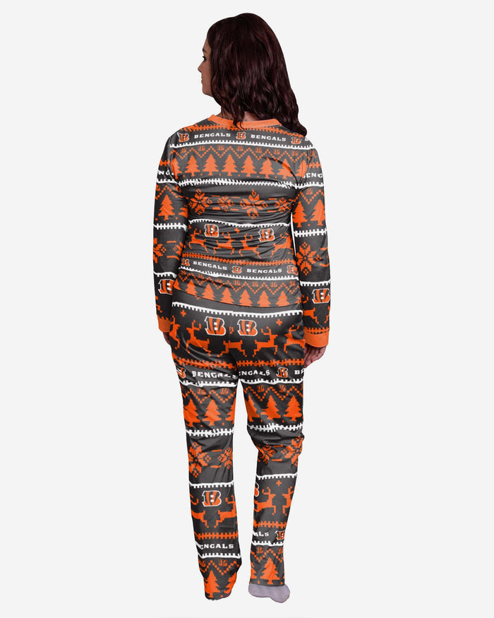 Cincinnati Bengals Womens Family Holiday Pyjamas FOCO - FOCO.com | UK & IRE