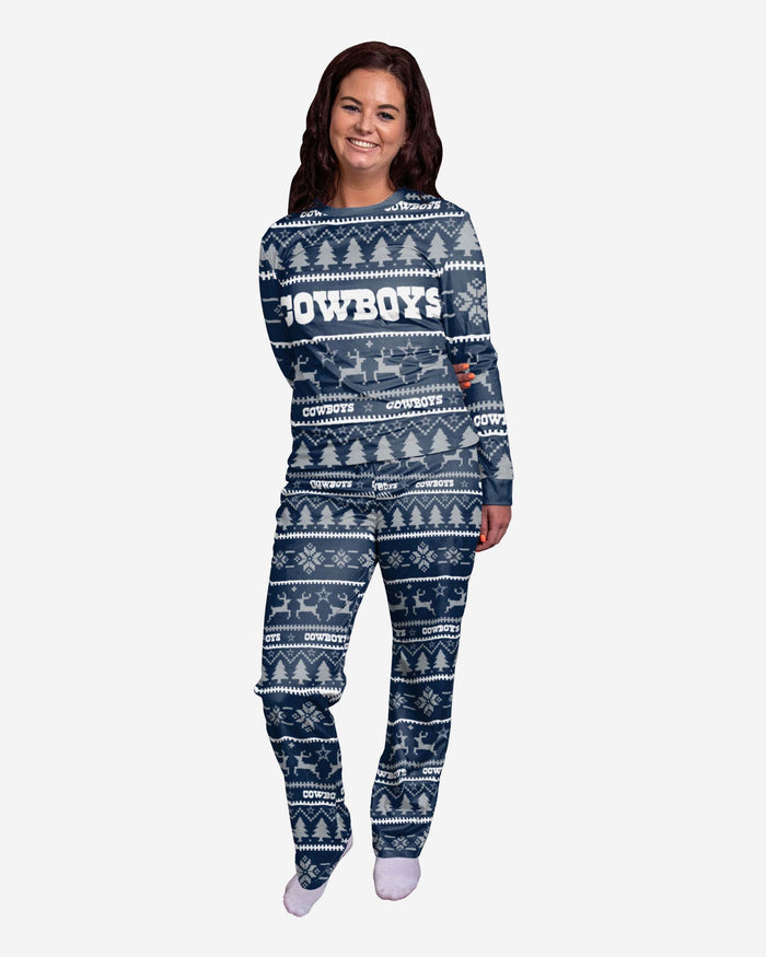 Dallas Cowboys Womens Family Holiday Pyjamas FOCO S - FOCO.com | UK & IRE