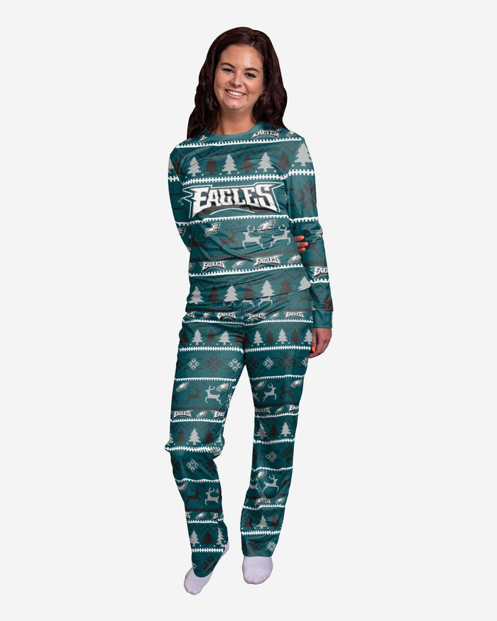 Philadelphia Eagles Womens Family Holiday Pyjamas FOCO S - FOCO.com | UK & IRE