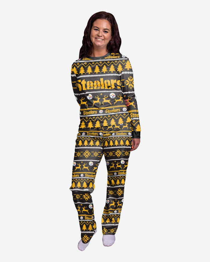 Pittsburgh Steelers Womens Family Holiday Pyjamas FOCO S - FOCO.com | UK & IRE
