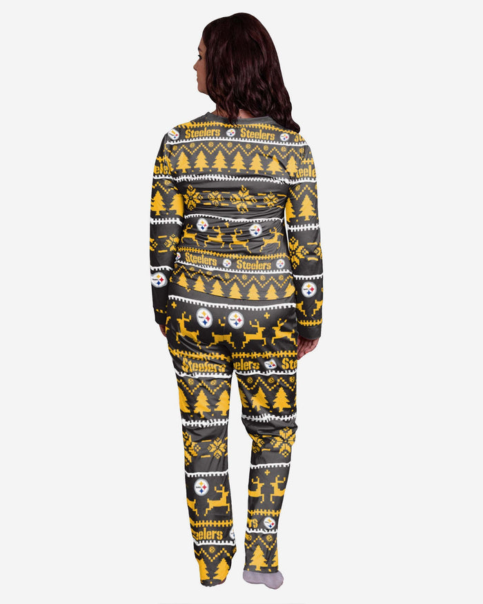 Pittsburgh Steelers Womens Family Holiday Pyjamas FOCO - FOCO.com | UK & IRE