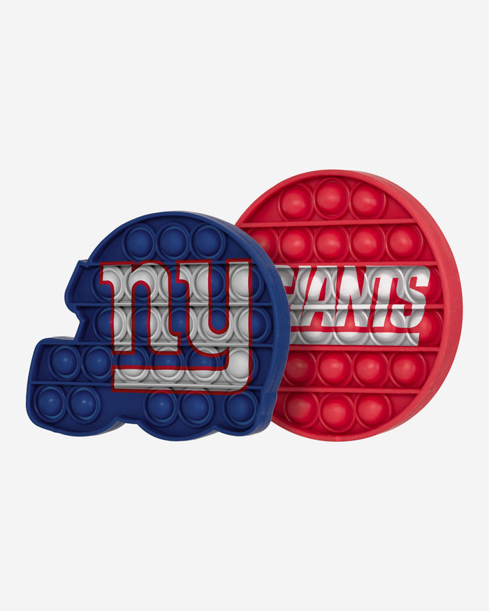 New York Giants 2 Pack Helmet & Circle Push-Itz Fidget FOCO - FOCO.com | UK & IRE