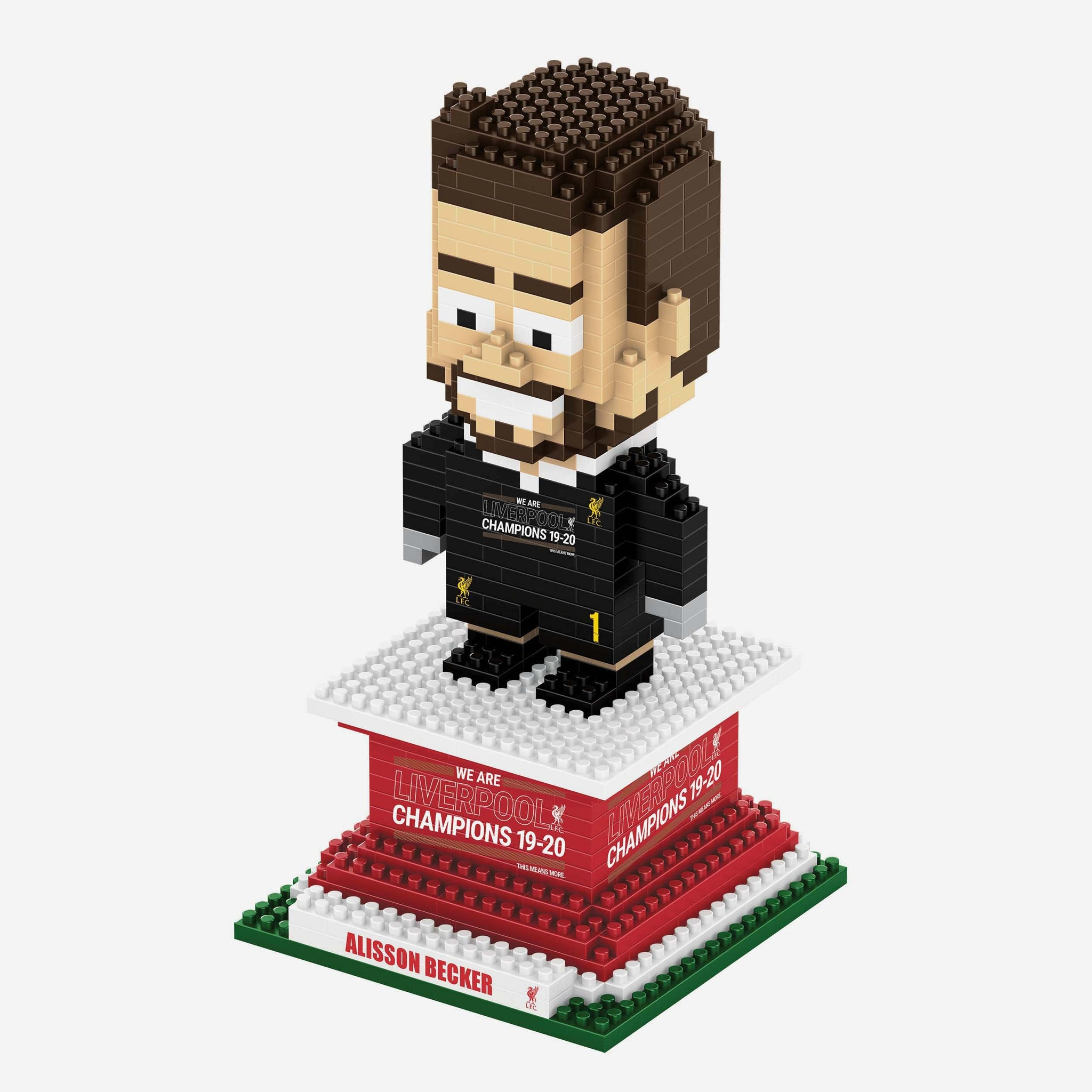 Alisson Becker Liverpool FC 2019-20 Champions BRXLZ Player