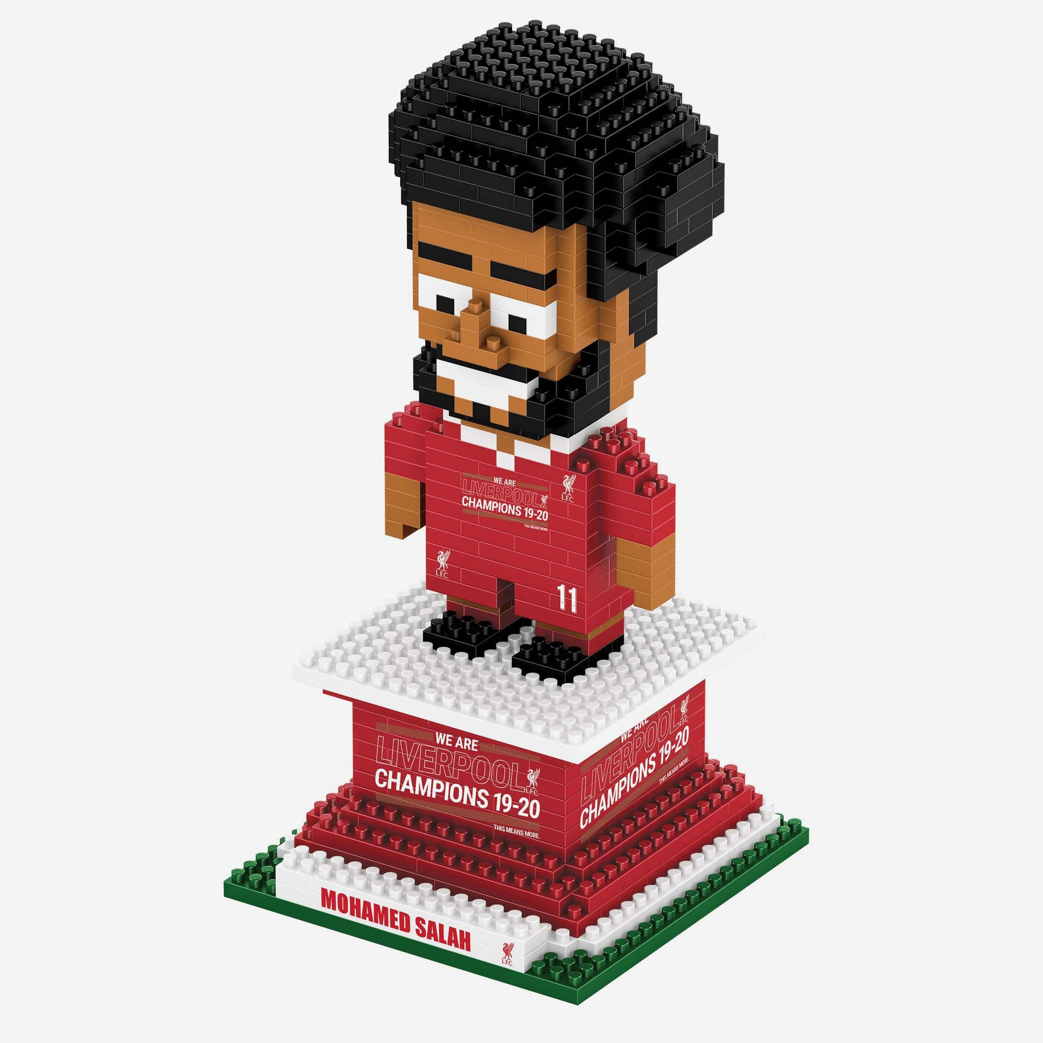 Mohamed Salah Liverpool FC 2019-20 Champions BRXLZ Player