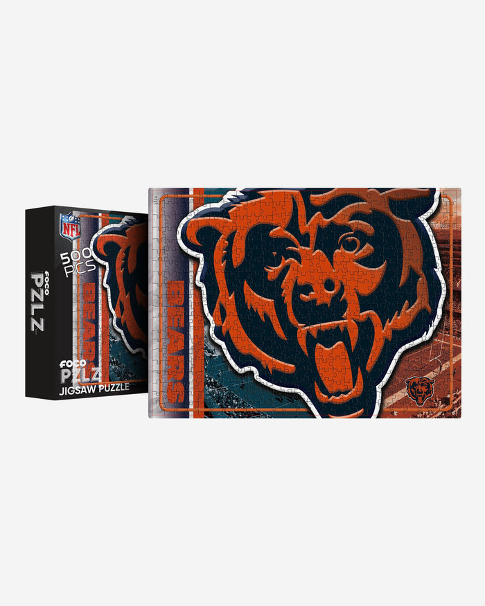 Chicago Bears 500 Piece Jigsaw PZLZ FOCO - FOCO.com | UK & IRE